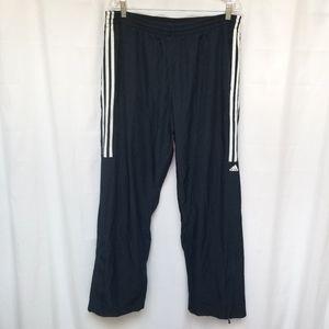 Adidas Navy Blue Track Pants Mesh XL